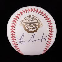 Luis Gonzalez Signed OML 2001 World Series Logo Baseball (Beckett COA & Marshall LOA) at PristineAuction.com