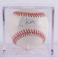 Greg Maddux Signed ONL Baseball With Display Case (Beckett COA & Marshall LOA) at PristineAuction.com