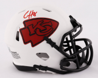 Clyde Edwards-Helaire Signed Chiefs Lunar Eclipse Alternate Speed Mini Helmet (Beckett Hologram) at PristineAuction.com