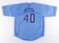 """Bruce Sutter Signed Jersey Inscribed """"H.O.F. 06"""" (JSA Hologram) at PristineAuction.com"""