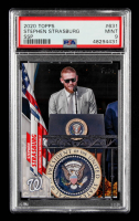 Stephen Strasburg 2020 Topps Base Set Photo Variations #631B SSP / White House (PSA 9) at PristineAuction.com