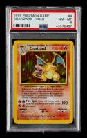 Charizard 1999 Pokemon Base Unlimited #4 HOLO (PSA 8) at PristineAuction.com