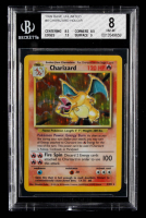 Charizard 1999 Pokemon Base Unlimited #4 HOLO (BGS 8) at PristineAuction.com