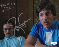 """Jon Gries Signed """"Napoleon Dynamite"""" 8x10 Photo Inscribed """"Back In Time!?"""" (JSA COA) at PristineAuction.com"""