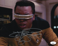 "LeVar Burton Signed ""Star Trek: The Next Generation"" 8x10 Photo (JSA COA) at PristineAuction.com"