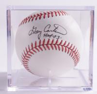 "Gary Carter Signed Baseball Inscribed ""HOF 03"" With Display Case (Beckett COA & Marshall LOA) at PristineAuction.com"
