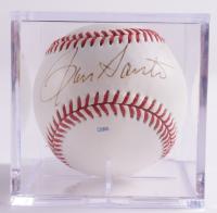 Ron Santo Signed Baseball With Display Case (Beckett COA & Marshall LOA) at PristineAuction.com