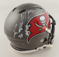 Jamel Dean, Mike Edwards & Jordan Whitehead Signed Buccaneers Super Bowl LV Champions Speed Mini Helmet (JSA COA) at PristineAuction.com