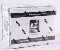 2020-21 Panini Donruss Basketball Cello Retail Box with (12) Packs at PristineAuction.com