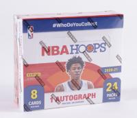 2020-21 Panini NBA Hoops Basketball Hobby Box with (24) Packs at PristineAuction.com