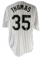 """Frank Thomas Signed Jersey Inscribed """"521 HRs"""" (JSA COA) at PristineAuction.com"""