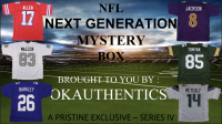 OKAUTHENTICS Next Generation Football Jersey Mystery Box - Series IV at PristineAuction.com