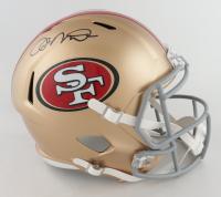 Joe Montana Signed 49ers Full-Size Speed Helmet (Fanatics Hologram) at PristineAuction.com