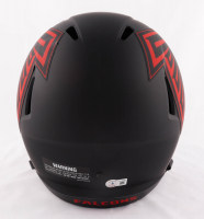 Kyle Pitts Signed Falcons Full-Size Eclipse Alternate Speed Helmet (Beckett Hologram) at PristineAuction.com