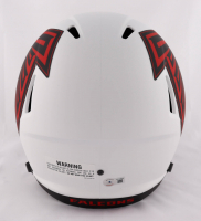 Kyle Pitts Signed Falcons Full-Size Lunar Eclipse Alternate Speed Helmet (Beckett Hologram) at PristineAuction.com