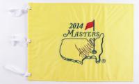 Donald Trump Signed 13x17 2014 Masters Golf Pin Flag (PSA LOA) at PristineAuction.com