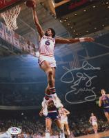 """Julius """"Dr. J"""" Erving Signed 76ers 8x10 Photo (PSA Hologram) at PristineAuction.com"""