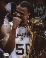 David Robinson Signed Spurs 8x10 Photo (PSA Hologram) at PristineAuction.com