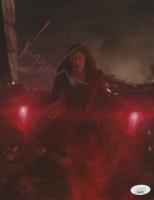 """Elizabeth Olsen Signed """"Avengers"""" 8x10 Photo (JSA Hologram) at PristineAuction.com"""