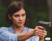 """Lauren Cohan Signed """"The Walking Dead"""" 8x10 Photo (JSA Hologram) at PristineAuction.com"""