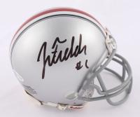 Justin Fields Signed Ohio State Buckeyes Mini Helmet (Beckett COA) at PristineAuction.com