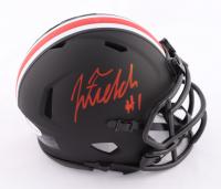 Justin Fields Signed Ohio State Buckeyes Eclipse Alternate Speed Mini Helmet (Beckett COA) at PristineAuction.com