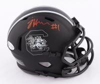 Jaycee Horn Signed South Carolina Gamecocks Eclipse Alternate Speed Mini Helmet (Beckett COA) at PristineAuction.com