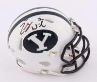 Zach Wilson Signed BYU Cougars Speed Mini Helmet (Beckett COA) at PristineAuction.com