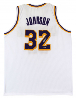 Magic Johnson Signed Jersey (Beckett Hologram) at PristineAuction.com