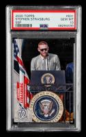 Stephen Strasburg 2020 Topps Base Set Photo Variations #631B SSP / White House (PSA 10) at PristineAuction.com