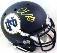 Chase Claypool Signed Notre Dame Fighting Irish Full-Size Authentic On-Field Helmet (Beckett Hologram) at PristineAuction.com