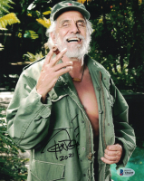 """Tommy Chong Signed 8x10 Photo Inscribed """"2021"""" (Beckett COA) at PristineAuction.com"""