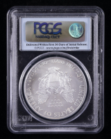 2008 American Silver Eagle $1 One Dollar Coin - First Strike (PCGS MS70) at PristineAuction.com