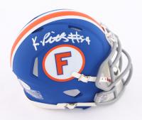 Kyle Pitts Signed Florida Gators Throwback Speed Mini Helmet (Beckett COA) at PristineAuction.com