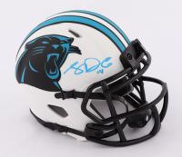 Sam Darnold Signed Panthers Lunar Eclipse Alternate Speed Mini Helmet (Beckett COA) at PristineAuction.com