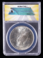 1922 Peace Silver Dollar VAM-34 (ANACS MS63) at PristineAuction.com