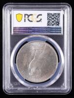 Mint Error - 1922 Peace Silver Dollar, Rim Clip (PCGS MS63) at PristineAuction.com