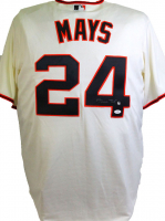 Wille Mays Signed Giants Jersey (JSA Hologram) at PristineAuction.com