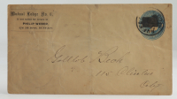 Late 1800s/Early 1900s Hand-Written Envelope With Antique US Postal History Stamp at PristineAuction.com