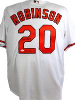 """Frank Robinson Signed Orioles Jersey Inscribed """"HOF 82"""" (JSA Hologram) at PristineAuction.com"""