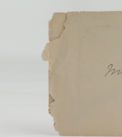1890 Hand-Written Envelope With Antique US Postal History Stamp at PristineAuction.com