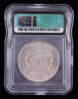1896 Morgan Silver Dollar (ICG MS63) at PristineAuction.com