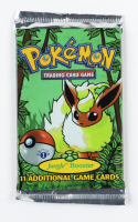 Pokemon First Edition Base Set Jungle Booster Pack with (11) Cards at PristineAuction.com