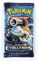Pokemon Evolutions Booster Pack with (10) Cards at PristineAuction.com
