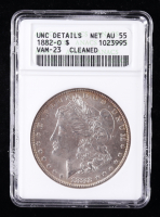 1882-O Morgan Silver Dollar (ANACS NET AU55 UNC Details) at PristineAuction.com