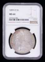 1899-O Morgan Silver Dollar (NGC MS64) (Toned) at PristineAuction.com