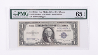 1935-G $1 Blue Seal Silver Certificate Bank Note (PMG Choice Uncirculated 65 EPQ) at PristineAuction.com