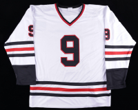 """Bobby Hull Signed Jersey Inscribed """"HOF 1983"""" & """"The Golden Jet"""" (Hull Hologram) at PristineAuction.com"""