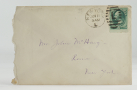 Hand-Written Envelope With Antique US Postal History Stamp at PristineAuction.com