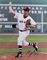 Will Ferrell Signed Red Sox 11x14 Photo (Beckett COA) at PristineAuction.com